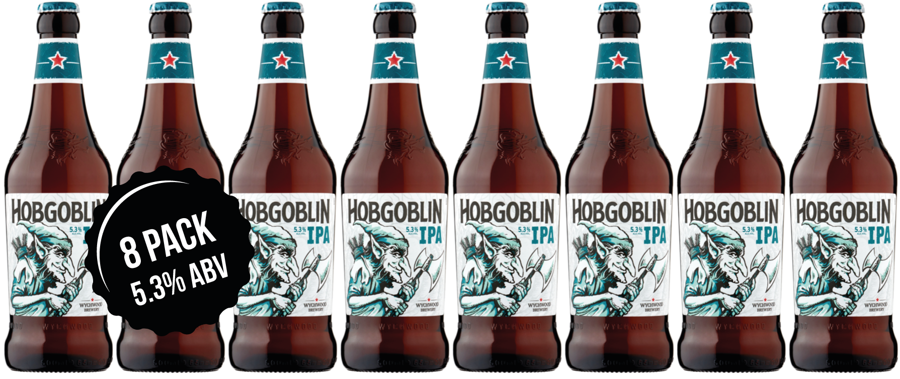 Hobgoblin IPA 8 x 500ml bottles