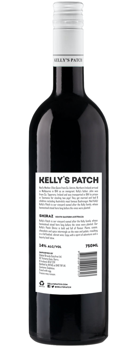 Kelly's Patch Shiraz