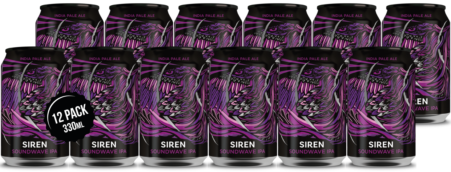 Siren Soundwave IPA 12 x 330ml cans