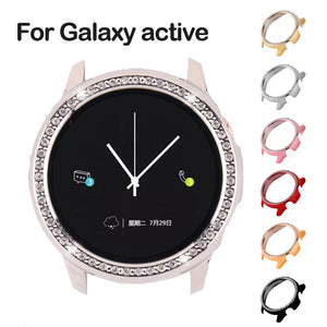 Galaxy Watch active case for Samsung galaxy watch active 2 40mm 44mm  bumper Protector HD Full coverage Screen Protection case