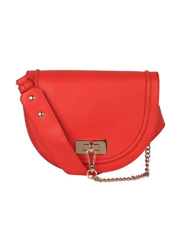 Half Moon Mini Sling-Red