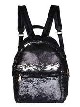 Load image into Gallery viewer, Sequinned Backpack-Black