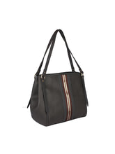 Load image into Gallery viewer, Zipper Detail Neutral Handbag-Grey