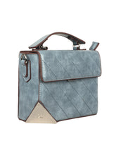 Load image into Gallery viewer, SKY BLUE BOX SLING BAG