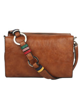Load image into Gallery viewer, BROWN TAN SLING BAG