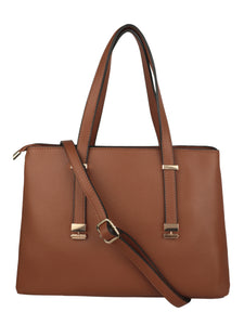 BROWN HANGBAG