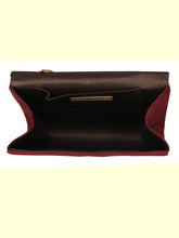 Load image into Gallery viewer, WINE WOMENS CLUTCH SLING BAG