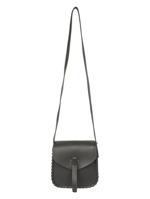 BLACK WOMENS SLING BAG