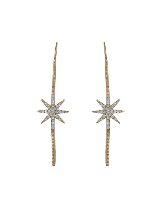 Star Studded Statement Earrings