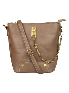 SIMPLE CLIQUE MUD BROWN SLING