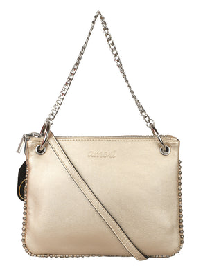 BLING GOLDEN SHORT CHAINED SLING BAG