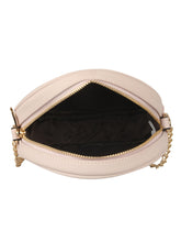 Load image into Gallery viewer, SUPER EXOTIC CIRCULAR BEIGE SLING BAG