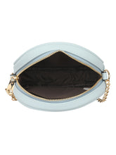 Load image into Gallery viewer, SUPER EXOTIC CIRCULAR SKY BLUE SLING BAG