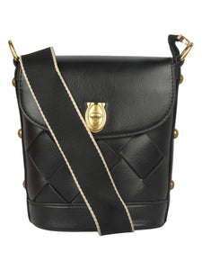 BLACK EXOTIC CLASSY PARTY BAG