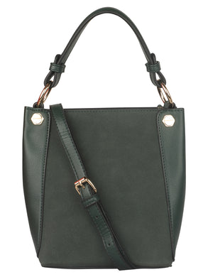 PINE GREEN FORMAL SLING BAG