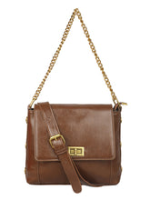 Load image into Gallery viewer, ARMY BROWN VINTAGE SLING BAG