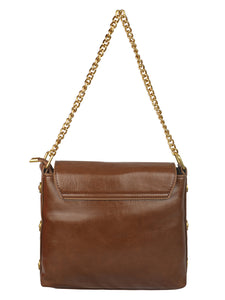 ARMY BROWN VINTAGE SLING BAG