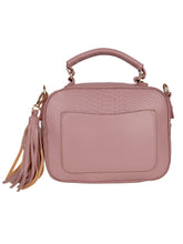 Load image into Gallery viewer, Snakeskin Tassel Sling-Pink