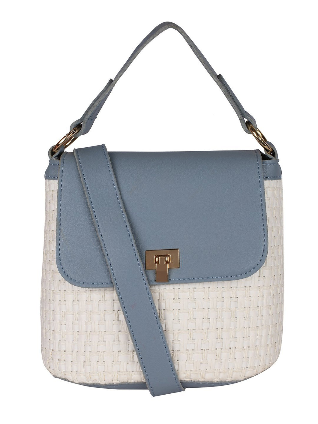 Pretty Me Handbag-Blue