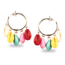 Load image into Gallery viewer, MULTICOLOR EXOTIC KAUDI CASUAL HOOPS
