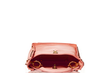 Load image into Gallery viewer, Pink Hue and Studs Handbag - Pink