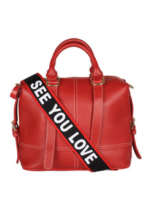 The Everyday Handbag- Red