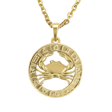Load image into Gallery viewer, CANCER ZODIAC PENDANT