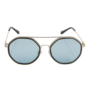 BLUE SHADED SUNGLASS. UV400