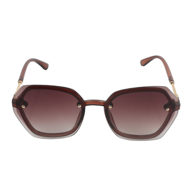 BROWN DOUBLE SHADED  SUNGLASS UV400
