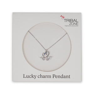 LUCKY CHARM SWAN NECKLACE