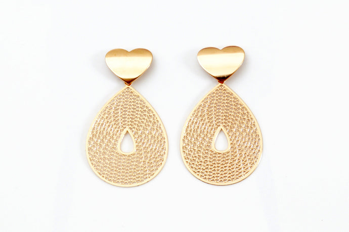 Sweetheart Type Earrings