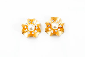 Floral Stud Earrings