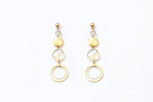 Circle of Gold Dangle