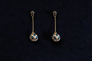 Royal jewel Dangle Earrings