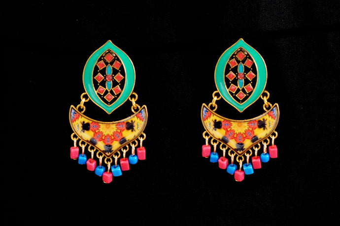 Cheerful Turkish Design Earrings