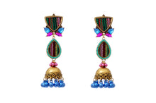 Load image into Gallery viewer, Multicoloured Turkish Designer Jhumka