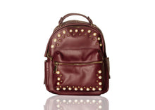 Load image into Gallery viewer, Pearly Vibes Backpack- Burgundy
