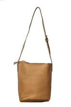 Load image into Gallery viewer, Slick Bucket Handbag - Brown