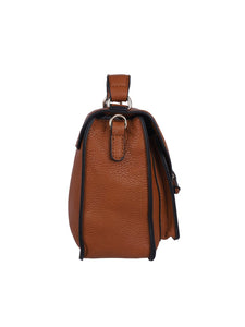 Envelope Ribbon Sling-Brown