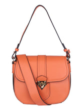 Load image into Gallery viewer, Gold Motif Sling-Orange