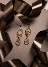 Load image into Gallery viewer, Royal Ruby Dangler Earrings