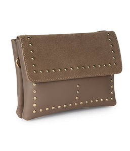 Studded Bomb Sling-Brown