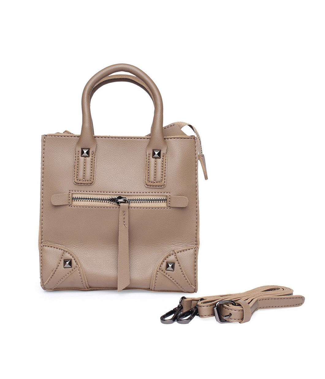 Carry Me Fancy Handbag-Beige