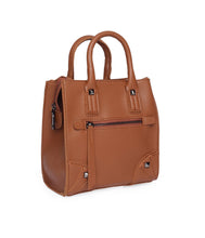 Load image into Gallery viewer, Carry Me Fancy Handbag-Brown