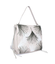 Load image into Gallery viewer, Leaf Pattern Handbag-Grey