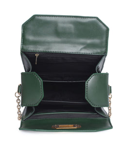 Classic Sling with Gold Clasp-Green