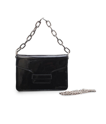 Chain Metallic Sling-Black