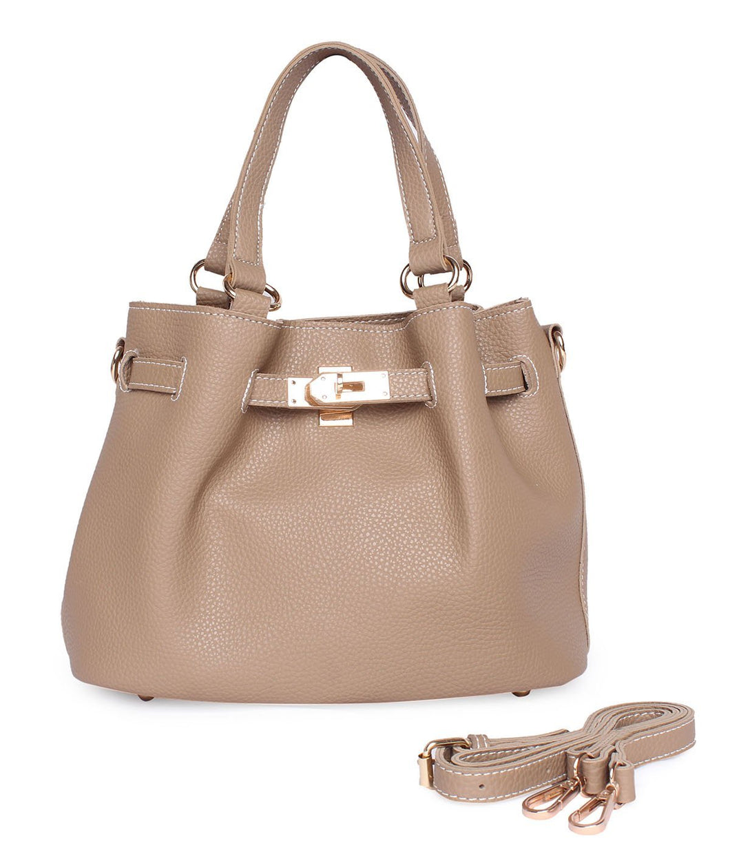 The Stylish Handbag-Beige