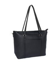 Load image into Gallery viewer, Structured Neutral Tote-Black