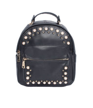 Load image into Gallery viewer, Pearly Vibes Backpack-Black